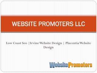 Irvine Website Design - websitepromoters.com