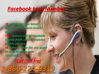 Searching for Facebook Technical Support?  Call on 1-866-224-8319