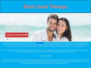 Root Canal Therapy: What Is It?