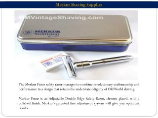 Merkur Shaving Supplies
