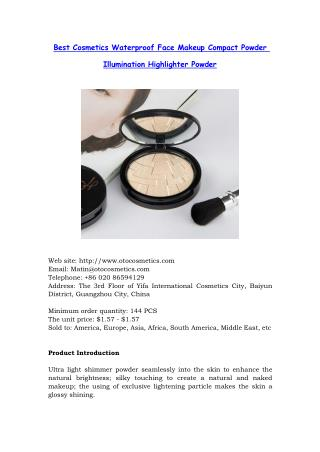 High quality cosmetics manufacturers and suppliers