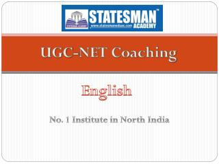 Statesman Academy For UGC NET English Coaching in Chandigarh