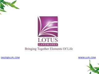 Lotus Pinnacle offers 1BHK, 2BHK residential projects Pune