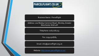 Parcel To Poland and USA – Parcel Flight Offers the Right Solutions