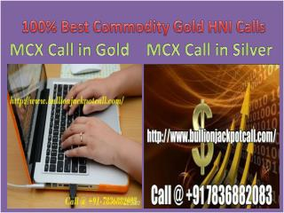 Only MCX Gold Silver Trading Tips Provider in Commodity Market