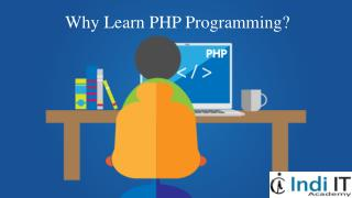 What is PHP, and why do I need it - PHP training Chandigarh