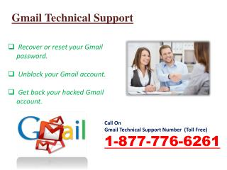 Get the Gmail account Help at 1-877-776-6261 Gmail Support Number