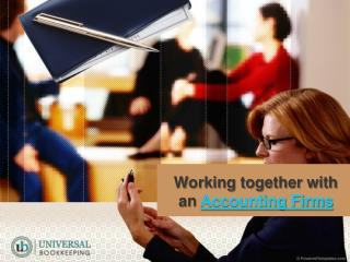 Working together with an Accounting Firm