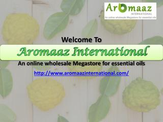 Shop best quality Essential Oil online now at Aromaazinternational