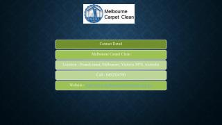Melbourne Carpet Clean
