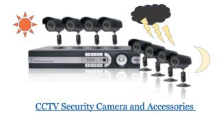 CCTV Security Camera and Accessories in Abu Dhabi