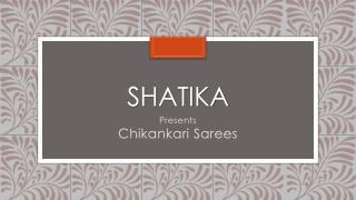Lucknowi Chikankari Sarees Online Shopping