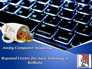 Reputed Centre for Java Training in Kolkata