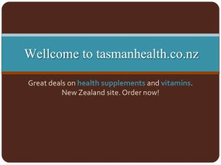tasmanhealth.co.nz | D-Mannose Powder