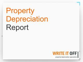 Property Depreciation Report