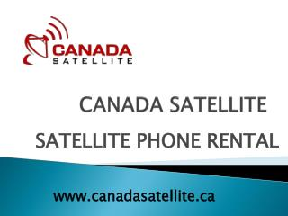 satellite phones rental