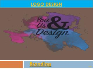 Logo Design Online | Logo creation | Branding | youandusdesign.com