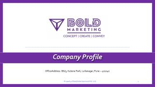Bold Marketing Pvt. Ltd
