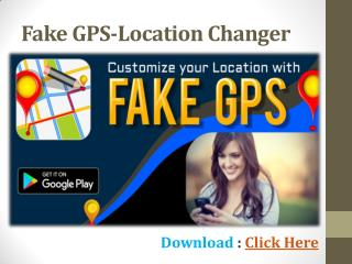Fake GPS location apk