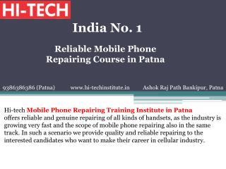 Reliable Mobile Phone Repairing Course in Patna