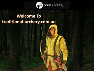 Traditional-archery.com.au offers affordable medieval bows