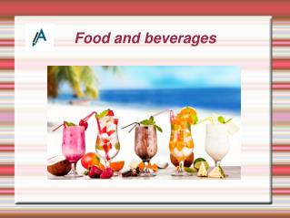 Report on Food and Beverages