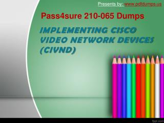 Pass4sure 210-065 dumps
