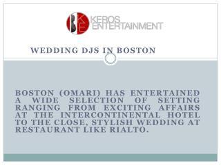 Boston Dj Special Events