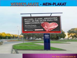 Mein-Plakat - Werbeplakate