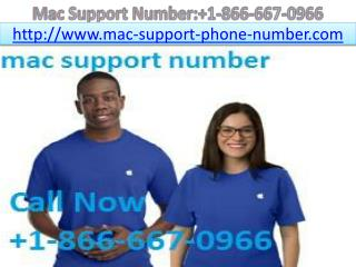 mac support number   1-866-667-0966