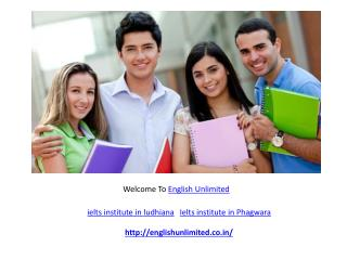 Best Ielts Institute in ludhiana / Phagwara | PTE institute in Ludhiana