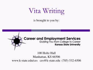 Vita Writing