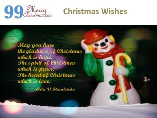merry christmas best wishes