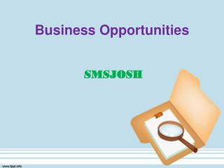Business Opportunity, Bulk SMS Reseller India, Bulk SMS Reseller Gateway – SMSJOSH