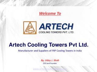 Top Class FRP Cooling Towers Manufacturer and Suppliers in India