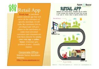Get Retail App From AppsBazar