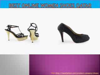Best Online women shoes Qatar