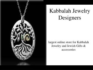 Stunning High Quality Kabbalah Jewelry