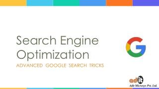 Best SEO Search Tricks And Services