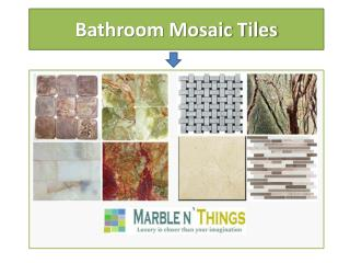 Mosaic Floor and Wall Tiles