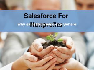 Salesforce for nonprofits- why salesforce wins over every crm