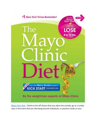 http://www.beaufitreviews.com/mayo-clinic-grapefruit-diet/