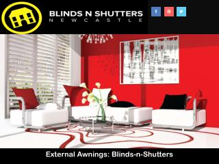 External Awnings: Blinds-n-Shutters
