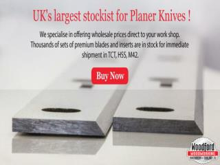 Buy online Planer Thicknesser Blades at woodfordtooling.com