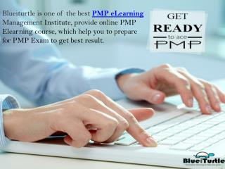 Get Online PMP ELearning Course & Classes