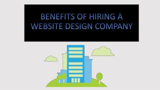 Benefits of Hiring a Website Design Company