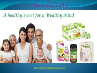 Stevia hub india - Fosstevia Sachets manufacturer, exporter and supplier