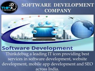 Thinkdebug specializes in the Website Designing and Web Development.