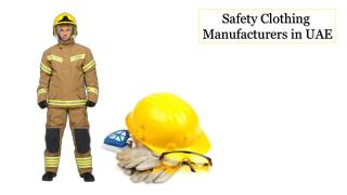 Safety Clothing Manufacturers in UAE