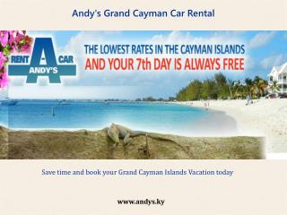 How to rent a car in grand Cayman – a brief guide